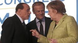 Silvio incontra la Merkel al congresso Ppe e le fa una promessa: frenerà l'avanzata dei 5