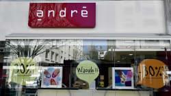 Vivarte va vendre André, Naf Naf, et fermer 147 magasins La Halle aux chaussures. Le gouvernement