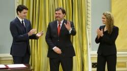 Richard Wagner a prêté serment et devient officiellement juge en chef de la Cour