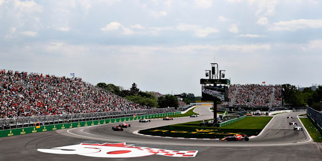 La Formule 1 au circuit Gilles-Villeneuve, 11 juin 2017.
