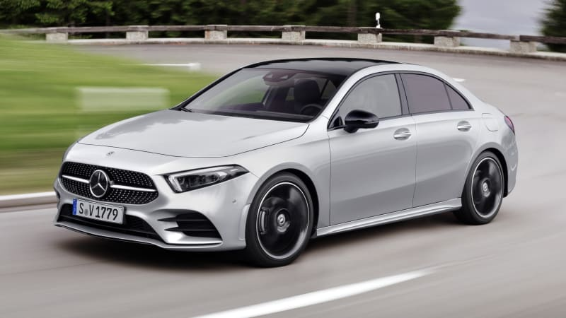 2019 mercedes benz a class sedan revealed for america for Mercedes benz of usa