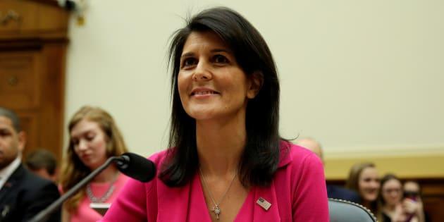 """L'ambassadrice américaine à l'ONU est fière d'avoir """"supprimé 500 millions du budget pour le maintien de la paix"""""""