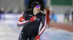 Alex Boisvert-Lacroix, un patineur de vitesse hors
