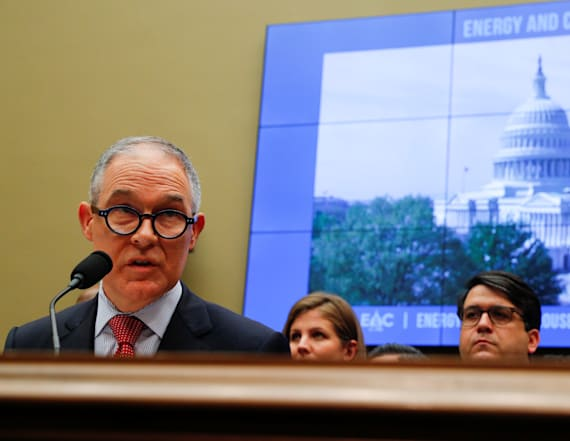 EPA chief tells lawmakers charges are distractions