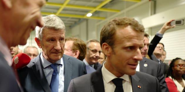 """Philippe de Villiers et Emmanuel Macron entretiennent une relation sans """"ambiguïté"""", même s'ils ne """"défendent pas les mêmes valeurs"""""""