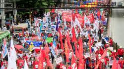 Les travailleurs du monde fêtent le 1er