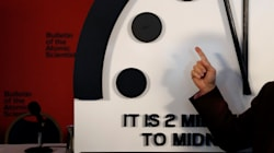 'Doomsday Clock' Swings To 2-Minute Countdown Due To Nuclear