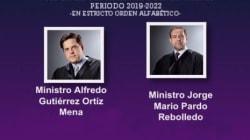 Cuatro ministros van por la presidencia de la Suprema