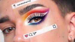 Cette nouvelle tendance maquillage illustre bien le contraste entre Instagram et la