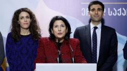 L'ex-ambassadrice française Salomé Zourabichvili élue présidente de