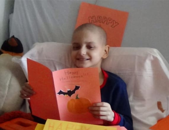 Boy whose last wish was Christmas cards dies