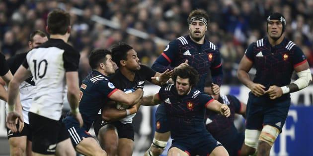 Fin novembre, le XV de France était passé tout près de battre les All Blacks en test-match au stade de France