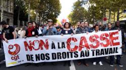 Suivez notre live la manifestation des syndicats contre la politique
