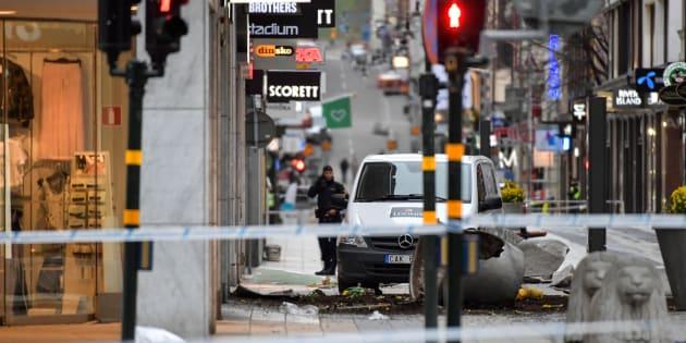Le suspect derrière l'attentat à Stockholm est passé aux aveux