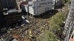 Les images impressionnantes de la manif monstre à Barcelone contre la détention