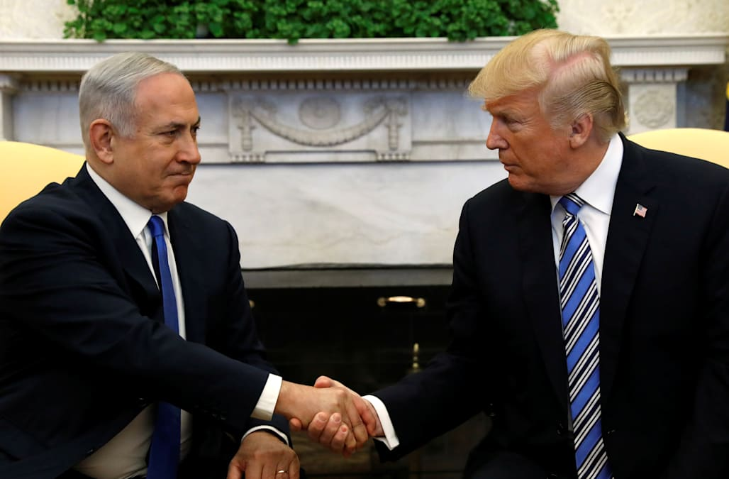 Trump says he may travel to Israel for embassy move