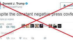 Étonnamment, Trump n'avait pas le droit de supprimer son