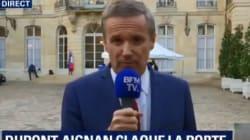 Philippe refuse que l'entretien soit filmé, Dupont-Aignan claque la
