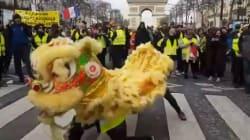 Le Nouvel An chinois s'invite dans l'acte XIII des gilets