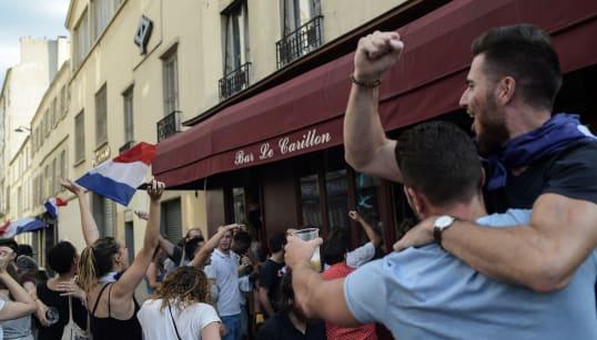 La France championne du monde, une