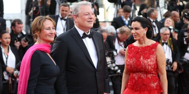 Cannes 2017: pourquoi Ségolène Royal montait-elle les marches du Festival?
