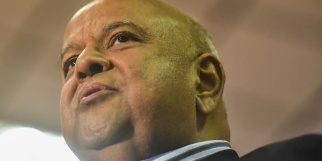 Former Finance Minister Pravin Gordhan.
