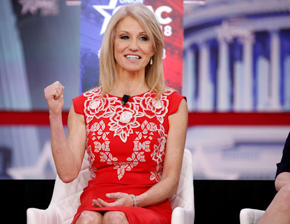 Kellyanne Conway blasts CNN in defense of husband