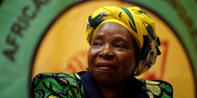 Nkosazana Dlamini-Zuma.