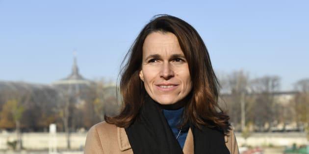 Aurelie Filippetti à Paris le 1er décembre 2016.