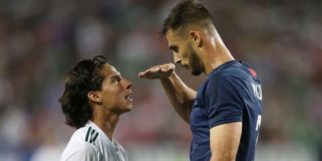 Diego Lainez a subi les moqueries de Matt Miazga durant l'amical Etats-Unis - Mexique.