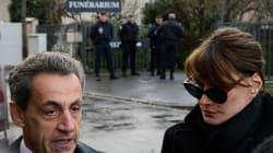 Sarkozy s'est recueilli au funérarium devant la dépouille de