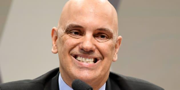 Alexandre de Moraes em sabatina no Senado