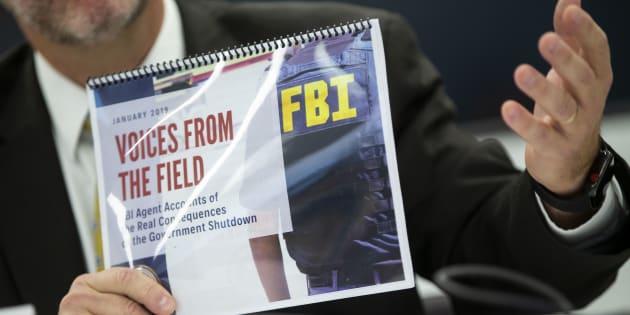 Avec le shutdown, le FBI ne peut plus financer ses opérations.