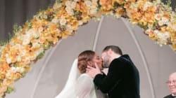 Les images du mariage de conte de fées de Serena