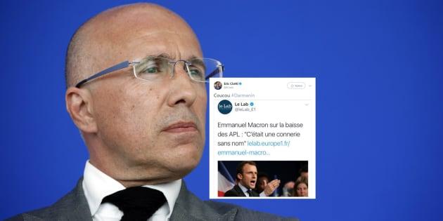 """""""Coucou Darmanin"""", Ciotti se moque de son ancien collègue après la colère de Macron sur les APL"""