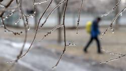 Du mauvais temps et des écoles fermées
