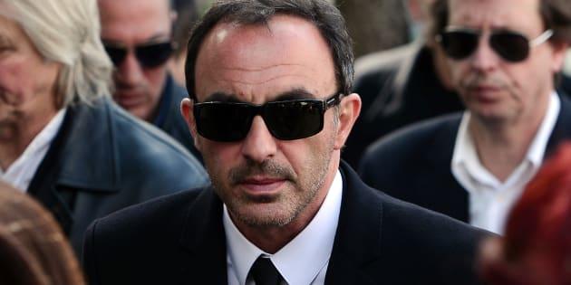 Nikos Aliagas s'est rendu en Grèce pour les obsèques de son père décédé le 9 mai 2017.