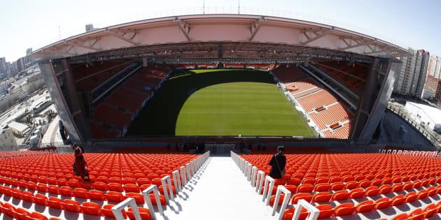 La France face au Pérou à Ekaterinburg, le stade le plus bizarre de cette Coupe du monde 2018