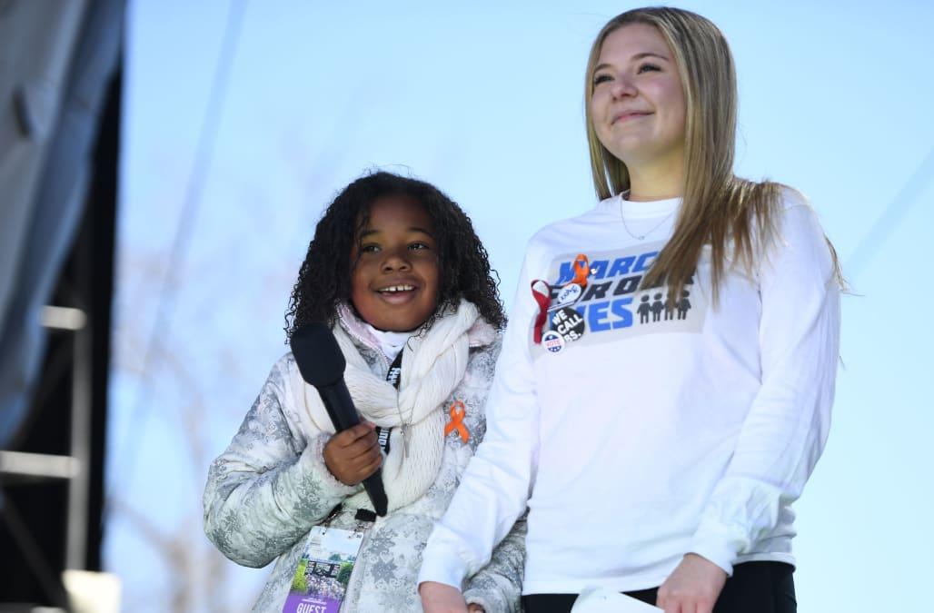 Mlk S Granddaughter Yolanda Renee King Shares Her Dream This