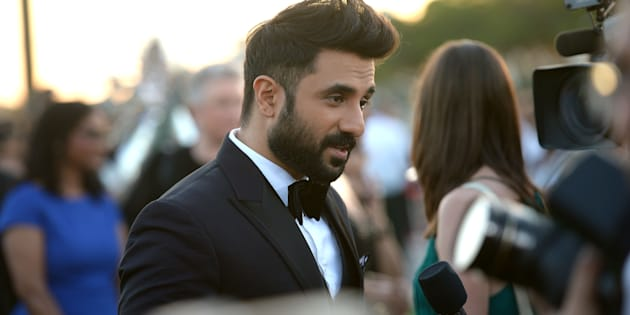 TAMPA, FL - APRIL 25:  Vir Das arrives to the IIFA Magic of the Movies at MIDFLORIDA Credit Union Amphitheatre on April 25, 2014 in Tampa, Florida.  (Photo by Gustavo Caballero/Getty Images)