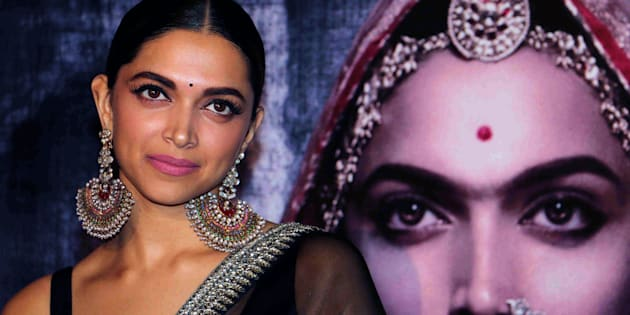 Indian Bollywood actress Deepika Padukone poses for a photograph during a promotional event for the forthcoming Hindi film 'Padmavati' directed by Sanjay Leela Bhansali in Mumbai on late October 31, 2017. / AFP PHOTO / STR        (Photo credit should read STR/AFP/Getty Images)