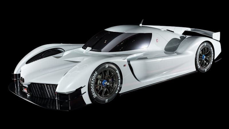 photo image Toyota GR Super Sport Concept is the TS050's prettier, friendlier cousin