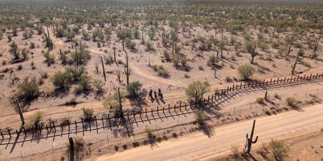 Una de las puertas de la droga mexicana a la unión americana es la reservación de la tribu Tohono O'odham, al este de Arizona.