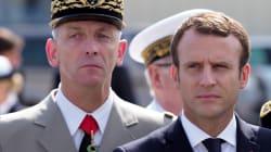 A Istres, Macron jure que le budget de l'armée sera le seul à augmenter en