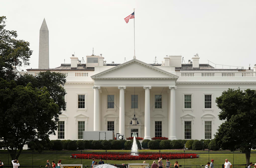 White House flags return to full staff less than 48 hours after John