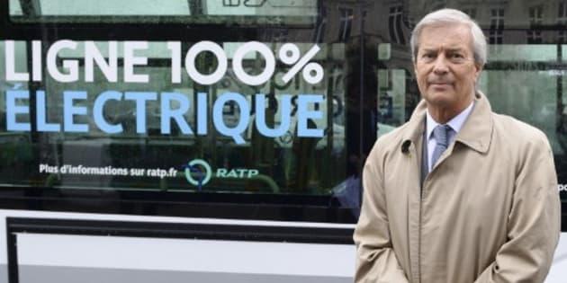 Vincent Bolloré à Paris le 30 mai 2016.