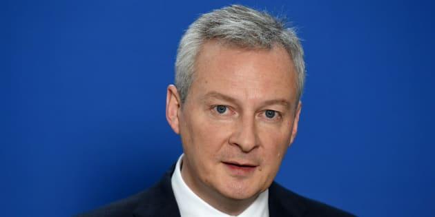 Bruno Le Maire à Paris le 2 mars 2018.