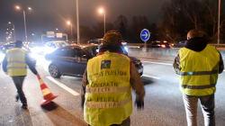 Un gilet jaune renversé par une voiture à Antibes, l'automobiliste activement