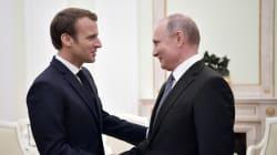 Macron felicita a Putin por una