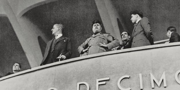 Benito Mussolini (1883-1945), 19 maggio 1935.